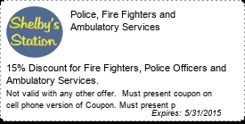 Coupon Police, Fire Fighters and Ambulatory Services