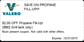 Coupon SAVE ON PROPANE FILL-UP!!!