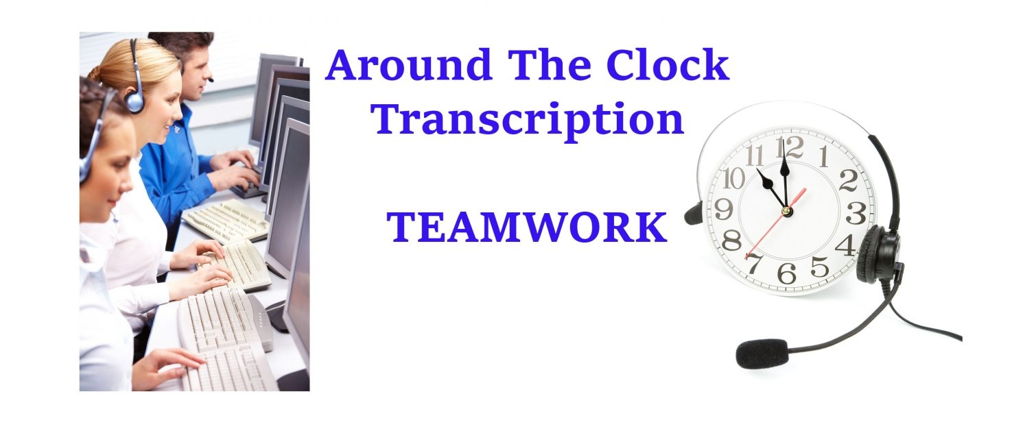 homepage photo Around The Clock Transcription Service Pittsburgh