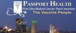 Passport Health  Travel Immunizations Cranberry Logo