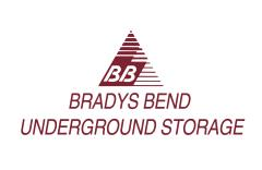 logo Bradys Bend Underground Storage of East Brady and Pittsburgh