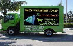 logo Retriever Ads Mobile Billboards Pompano Beach