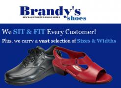 logo Brandys Shoes of Pompano Beach Florida