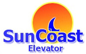 logo SunCoast Elevator Los Angeles