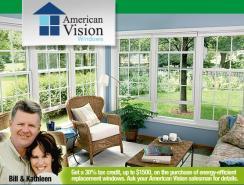 logo American Vision Windows Simi Valley