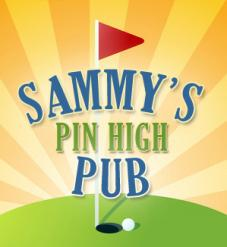 logo Sammys Pin High Pub