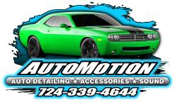 logo AutoMotion Auto Detailing Accessories and Sound