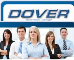 logo Dover Business College Clifton New Jersey