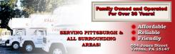 logo Calfo Red Line Transfer Pittsburgh