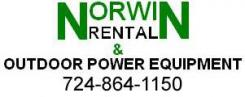 logo Norwin Rental & Outdoor Power Equipment Irwin