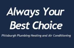 Pittsburgh's Best Plumbing Logo