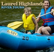 logo Laurel Highlands River Tours & Outdoor Center