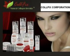 logo Collfix Corporation Anti-Aging Products Boca Raton