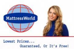 logo Mattress World  Peter's Township