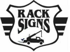 Rack Signs Pittsburgh Logo
