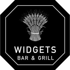 The Widget Company Bar and Grill Logo