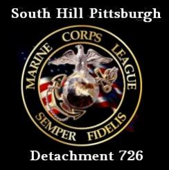 Marine Corps League Det 726 South Hills Pittsburgh Logo
