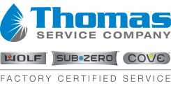Thomas Service Wolf-Sub Zero Repair St Paul Logo