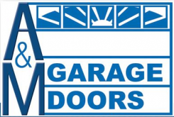 A and M Garage Doors Pittsburgh Logo