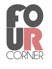 FOUR CORNER: interior design + event planning Pittsburgh Logo