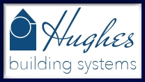 Hughes Building Systems Log Homes Logo