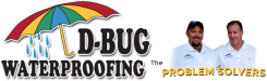 D-Bug Waterproofing Logo