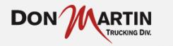 Don Martin Trucking Logo