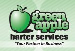 Green Apple Barter Logo