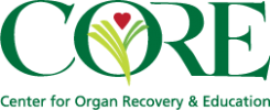 Center for Organ Recovery and Education Logo