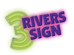 3 Rivers Sign Logo