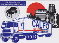 Calfo Red Line Transfer Logo