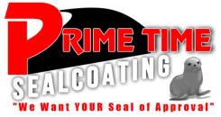 Prime Time Sealcoating Logo