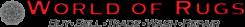 World of Rugs Logo