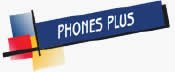 Phones Plus Logo