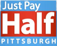 Just Pay Half  Logo
