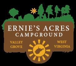 Ernie's Acres Campground Logo