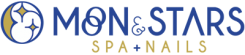 Moon & Stars Spa Nails Logo